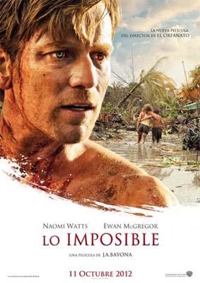 Lo imposible, el próximo 12 de octubre