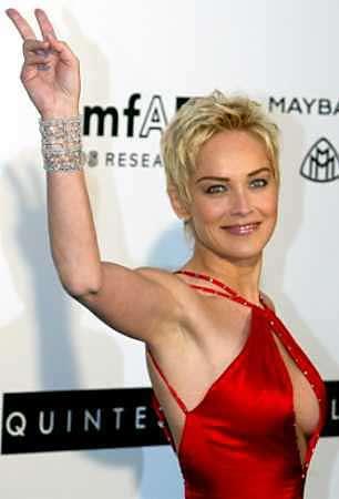 Sharon Stone querría tener la cara «ordinaria» de Meryl Streep