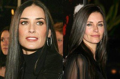 Courtney Cox y Demi Moore hacen su debut como directoras