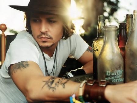 Jhonny Depp, considerado el artista mas poderoso del momento