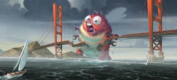 «Monsters vs. Aliens», lo nuevo de Dreamworks, llegará al cine en mayo de 2009