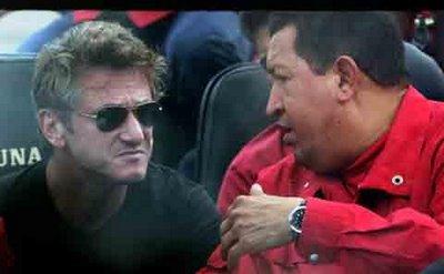 Sean Penn visitó a Hugo Chávez por segunda vez
