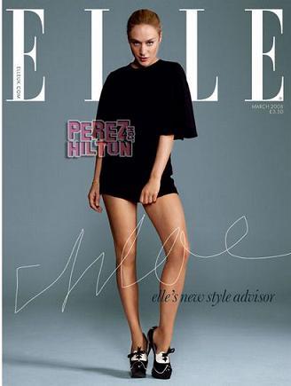 Chloë Sevigny en la Elle británica