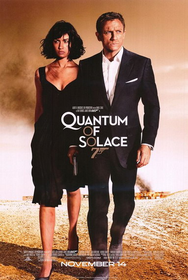 """Quantum of Solace"": poster final de lo nuevo de James Bond"