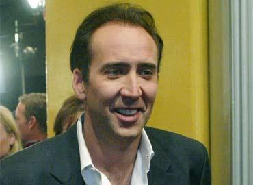 """Ron Perlman y Nicolas Cage en """"Season of the Witch"""""""