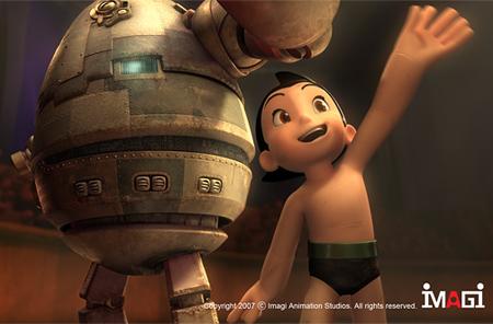 Trailer de «Astro Boy», con las voces de Kristen Bell, Nicolas Cage, Bill Nighy