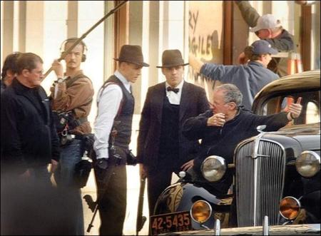 Johnny Depp y Christian Bale en la época dorada de los gángsters.