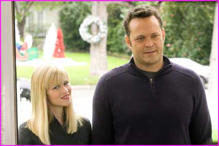 "Trailer de ""Four Christmases"", con Vince Vaughn y Reese Witherspoon"