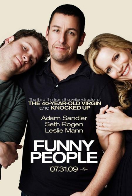 """Trailer online de la película """"Funny People"""", con Adam Sandler, Seth Rogen y Leslie Mann"""