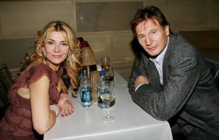 Entierran los restos de la actriz Natasha Richardson, mujer de Liam Neeson