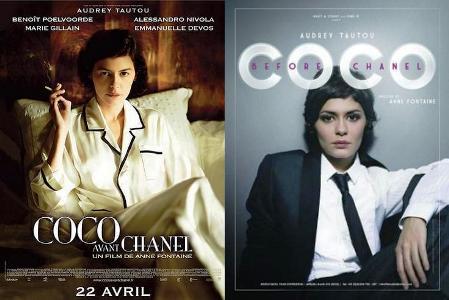 Francia convulsionada con el afiche de la película «Coco Avant Chanel»