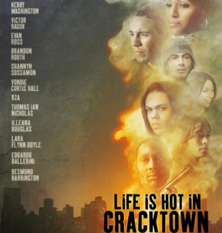 Trailer online de la película «Life is hot in Cracktown», con Kerry Washington, Evan Ross y Victor Rasuk