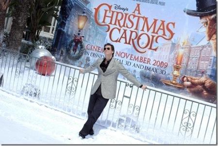 Primer imagen y clip de la película de animación «A Christmas Carol', de Robert Zemeckis