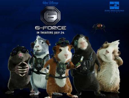 Trailer online de la película 'Fuerza G', estreno 9 de octubre de 2009