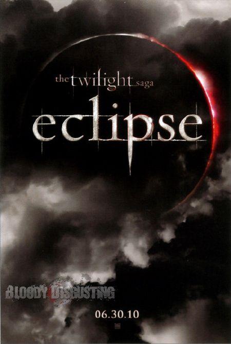 Primer póster oficial de la película 'Eclipse', tercer entrega de la saga 'Crepúsculo'