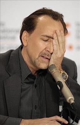 Nicolas Cage arruinado