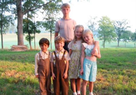 Foto de los hijos Robert Pattinson en «Water For Elephants»
