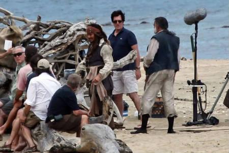 Galería de fotos del set de «Piratas del Caribe: En Costas Extrañas»