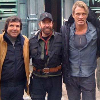 Chuck Norris no estará en Los Mercenarios 3
