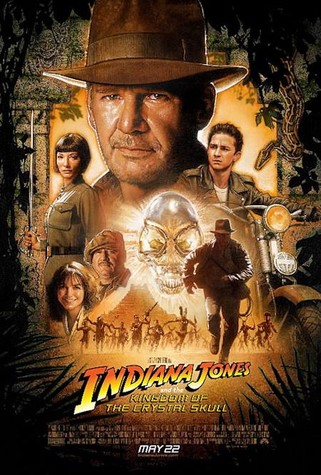 Poster oficial de la nueva de Indiana Jones: sabor a clásico