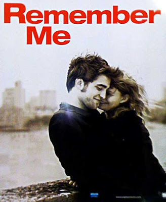 Cartel de «Remember me» con Robert Pattinson